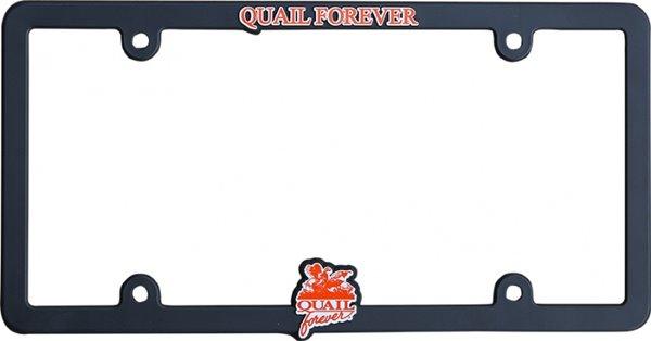Universal License Plate Frame-QF-Black
