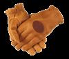 QF Upland Deerskin Shooting Gloves