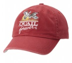 QF Red Washed Hat-USA