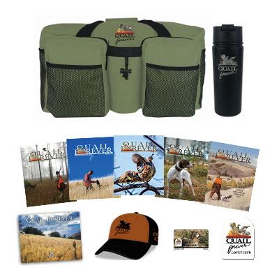 Covey Club Membership + QF Travel Bag and Tumbler