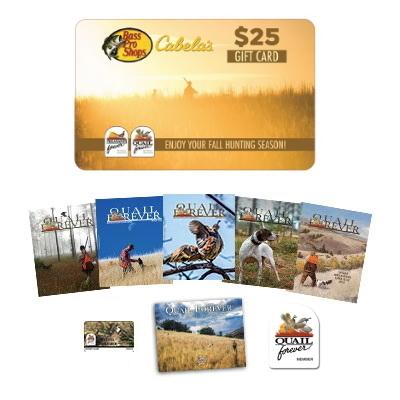 Affiliate Membership + $25 Bass Pro Shops & Cabela's Gift Card